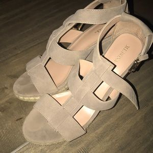 Suede wedges from target!